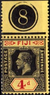 Fiji 1912 King George V SG 131 Fine Mint