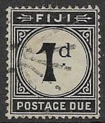 Fiji 1918 Postage Due  SG D7  Fine Used