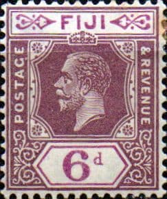 Fiji 1922 King George V SG 237 Fine Mint