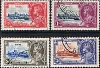 Postage Stamp Stamps Fiji 1935 King George V Silver Jubilee Set Fine Used
