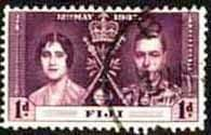 Fiji 1937 SG 246 King George VI Coronation Fine Used