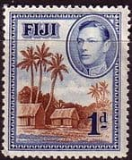 Fiji 1938 SG 250 Native Village Fine Mint