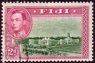 Fiji 1938 SG 255a Government Offices Fine Used