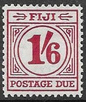 Postage Stamps Fiji 1941 SG 267 Map of Islands Overprint Fine Mint Scott 136
