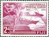 Fiji 1949 Royal Universal Postal Union SG 272 Fine Mint