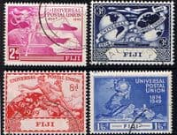 Fiji 1949 Universal Postal Union Set Fine Used