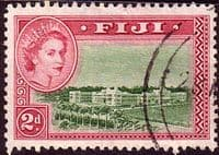 Fiji 1954 SG 283 Goverment Offices Fine Used