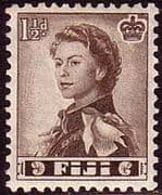 Fiji 1959 SG 300 Queens Portrait Fine Mint