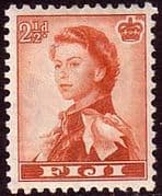 Fiji 1959 SG 302 Queens Portrait Fine Mint
