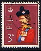 Fiji 1962 SG 313 Queen in Uniform Fine Used