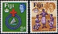 Fiji 1964 50th Anniv of Fijian Scout Movement Fine Mint