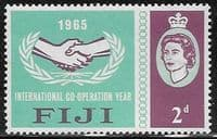Fiji 1965 International Co-operation Year SG 343 Fine Mint