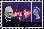 Fiji 1966 Churchill Commmeration SG 348 Fine Used