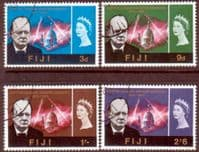 Fiji 1966 Churchill Set Fine Used