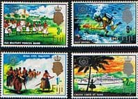 Fiji 1967 International Tourist Year Set Fine Mint