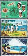 Fiji 1968 World Health Organization Set Fine Mint