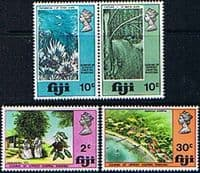 Fiji 1970 Leprosy Hospital Makogai Set Fine Mint