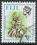 Fiji 1971 Birds and Flowers SG 440 Fine Used