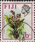 Fiji 1971 Birds and Flowers SG 442 Fine Used
