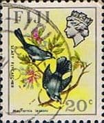 Fiji 1971 Birds and Flowers SG 444 Fine Used