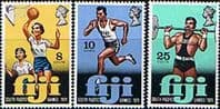 Fiji 1971 South Pacific Games Set Fine Mint