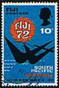 Fiji 1972 Festival of Arts Fine Used