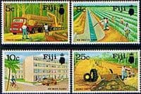 Fiji 1973 Development Projects Set Fine Mint