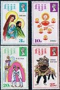 Fiji 1973 Festivals of Joy Set Fine Mint