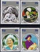 Fiji 1985 Queen Mother Life and Times Set Fine Mint