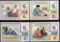 Fiji 1998 Asian and Pacific Decade of Disabled People Set Fine Mint