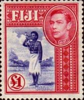 Fiji Stamp King George VI Issues