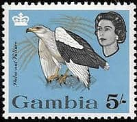 Gambia 1963 Birds SG 203 Palm-nut vulture Fine Mint