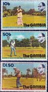 Gambia 1975 11th Anniversary Independence Set Fine Mint