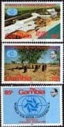 Gambia 1981 World Tourism Conference Set Fine Mint