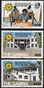 Gambia 1982 West African Examinations Council Set Fine Mint