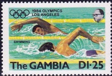Gambia 1984 Olympic Games SG 531 Fine Mint