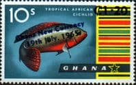 Ghana 1965 New Currency SG 390 Fine Mint