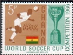 Stamps Stamps Ghana 1966 Football World Cup Set Fine Mint