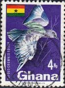 Ghana 1967 New Currency SG 465  Fine Used