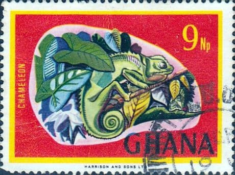 Ghana 1967 New Currency SG 468  Fine Used