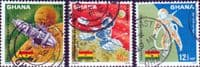Ghana 1967 Peaceful Use of Outer Space Set  Fine Used