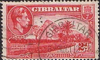 Gibraltar 1938 SG 124c The Harbour Fine Used
