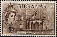 Gibraltar 1953 SG 156 Government House Convent Fine Mint