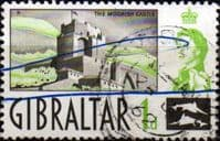 Gibraltar 1960 SG 161 Moorish Castle Fine Used