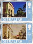 Gibraltar 1971 First Decimals Pair SG 257a Fine Used