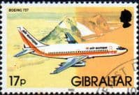 Gibraltar 1982 Aircraft SG 468 Fine Used