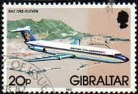 Gibraltar 1982 Aircraft SG 469 Fine Used