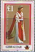 Gibraltar 1986 Queen Elizabeth 60th Birthday Fine Mint