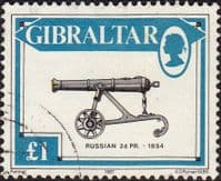 Gibraltar 1987 Guns SG 579 Fine Used