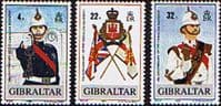 Gibraltar 1989 Regiment Set Fine Mint